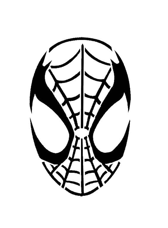 564x764 The Best Spiderman Pumpkin Stencil Ideas