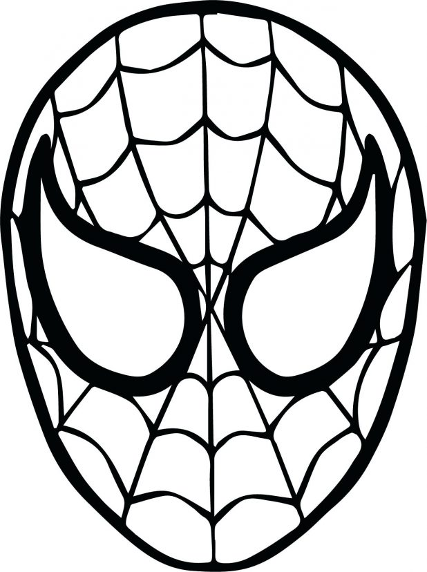 618x828 Coloring Pages Terrific Spider Man Coloring Pages. Spiderman