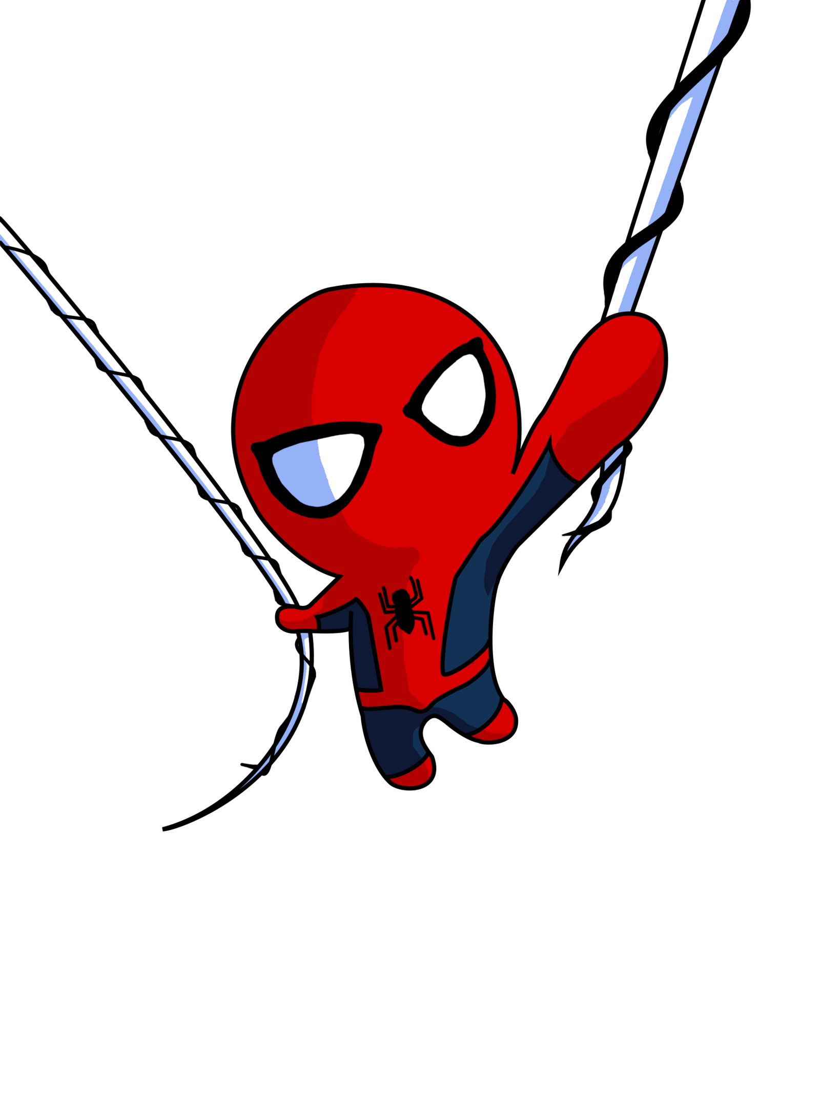 1600x2142 Spiderman By Andres172