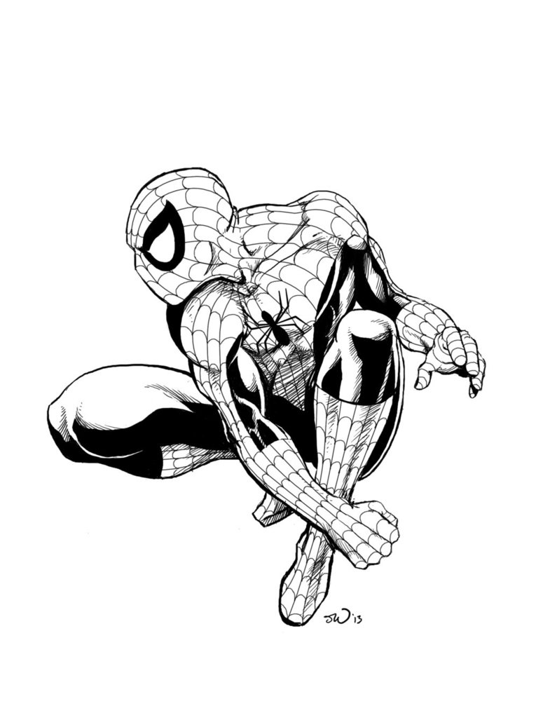 785x1017 The Amazing Spider Man By Judsonwilkerson