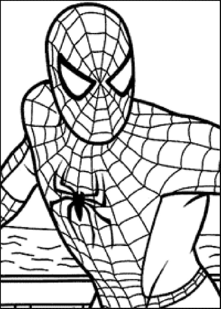 736x1030 Best Spiderman Coloring Ideas Spiders For Kids