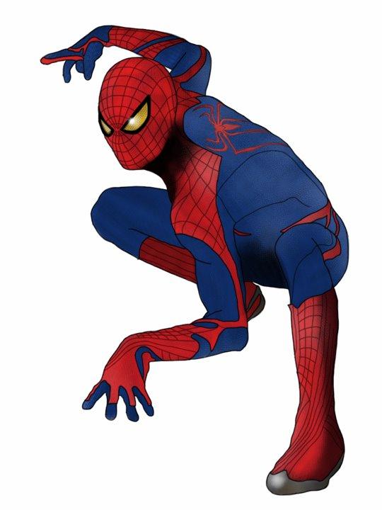 540x720 Amazing Spider Man By Mr Saxon