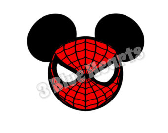 340x270 Spiderman Clipart Head