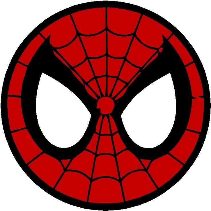 736x736 Spiderman Logo Clipart
