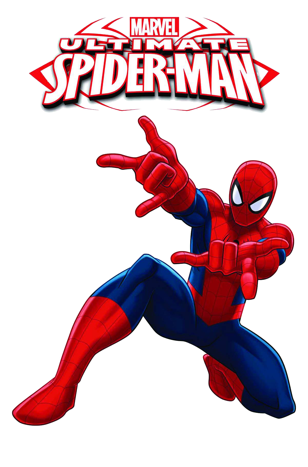 1200x1821 Ultimate Spiderman With Logo Clipart