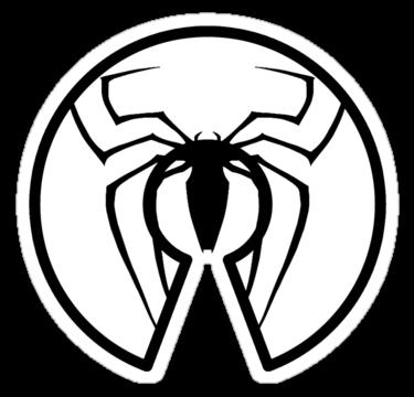 375x360 Arachnid Clipart Spiderman Logo