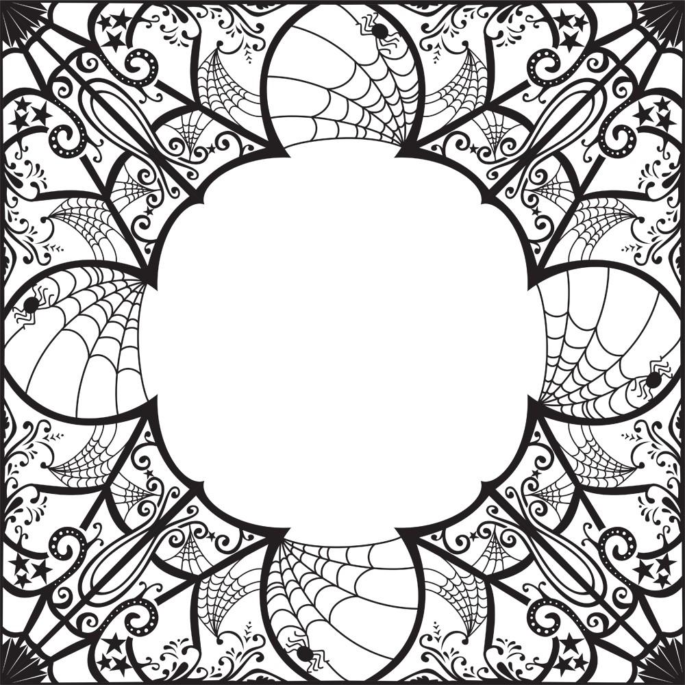 1000x1000 Shobhna Patel Spiderweb Border Illustration Designed For Lch