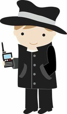 236x400 Detective Spy Detective Top Secret Agents For God And School