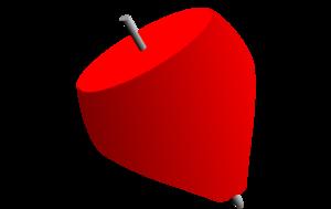 300x189 Spinning Top Clip Art
