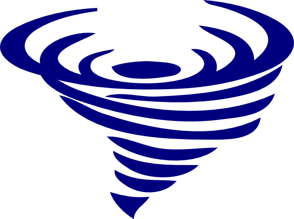 600x447 Blue Spinning Whirlwind Clip Art
