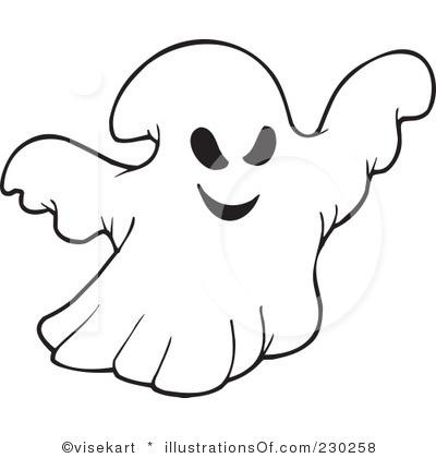 400x420 Spirit Clipart Spooky Ghost