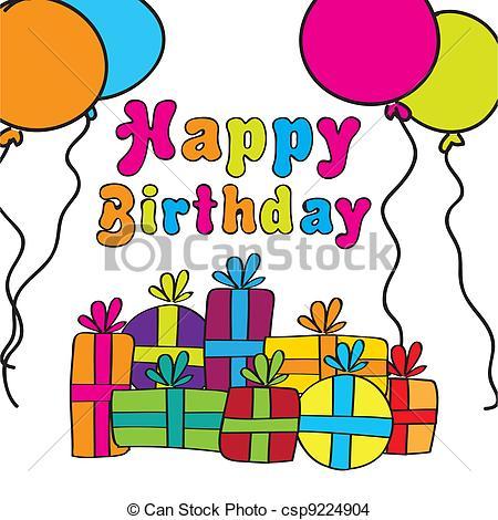 450x470 Gift Clipart Happy Birthday