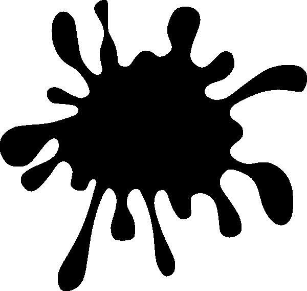 600x568 Clip Art Black Splash Clipart