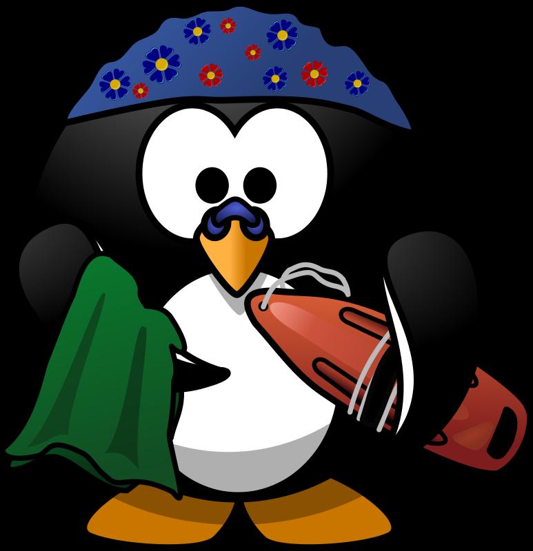 773x800 Free Swimmer Penguin Clip Art