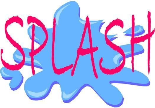 Water splash play. Day clipart free download