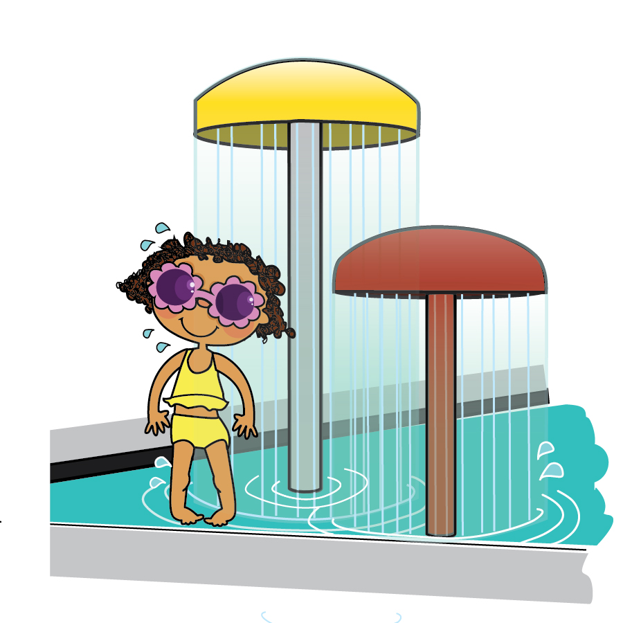 900x900 Pool Clipart Splash Pad
