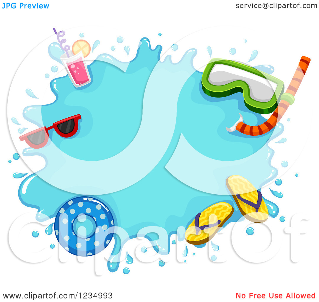 1080x1024 Sream Clipart Summer Splash