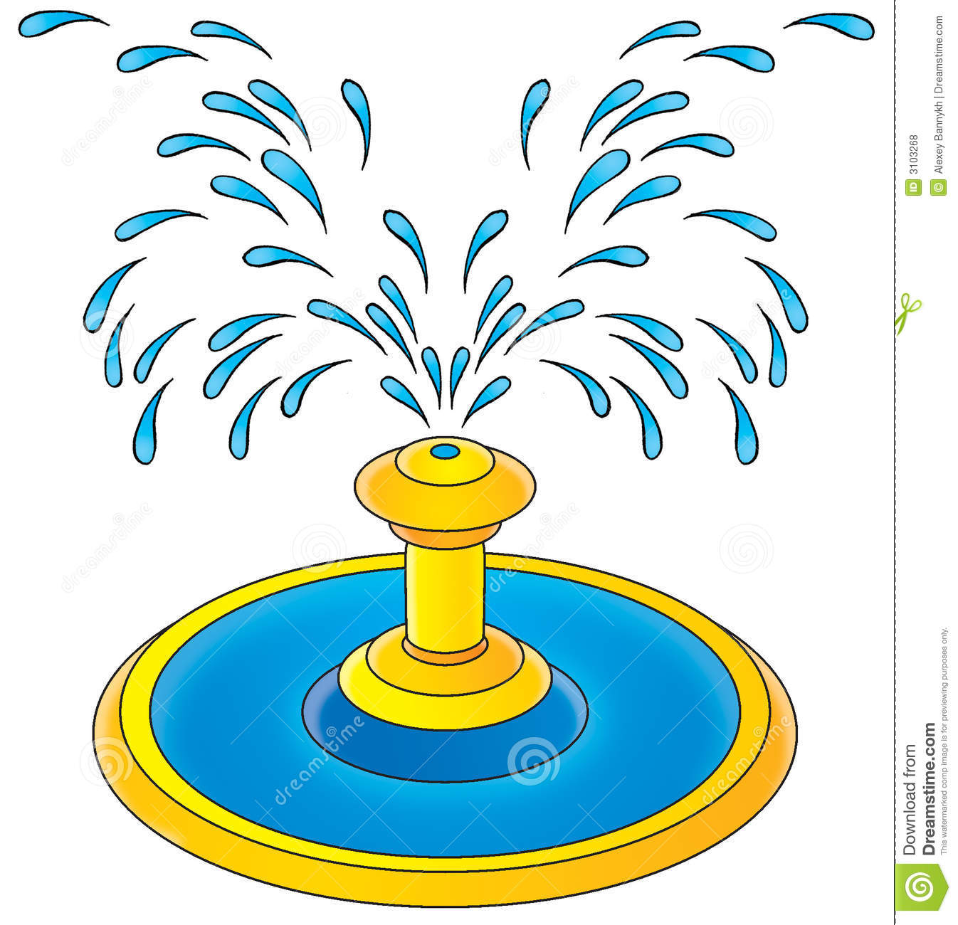1346x1300 Fountain Clipart Splash Pad