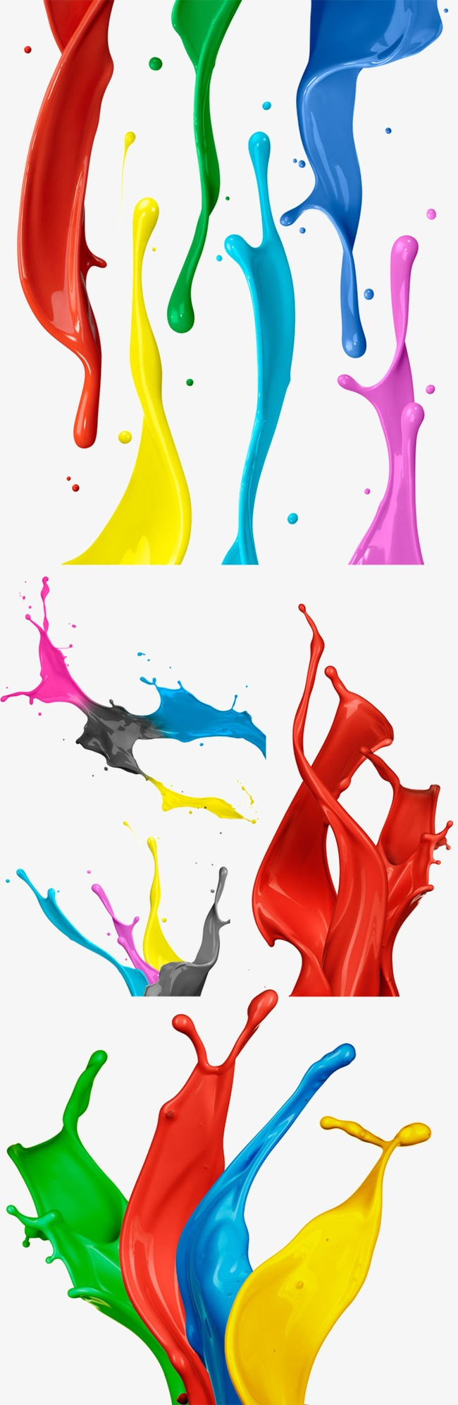 650x1991 Color Splash Png, Vectors, Psd, And Icons For Free Download Pngtree