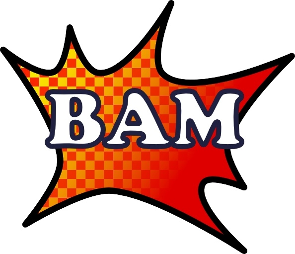 594x511 Bam Splash Clip Art Free Vector In Open Office Drawing Svg ( Svg