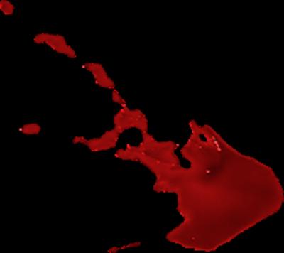 400x356 Blood Splatter Clip Art