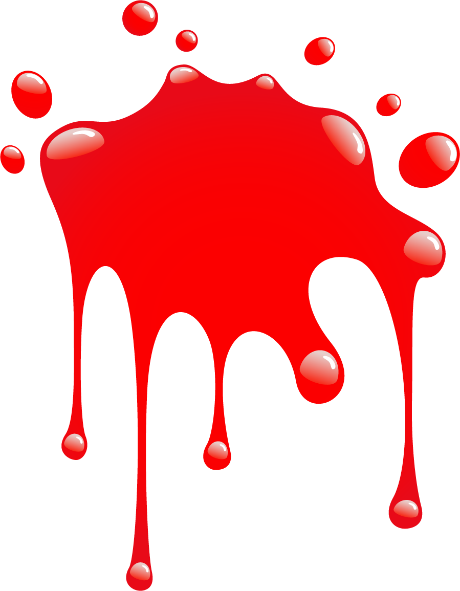 899x1155 Splash Clipart Red Color