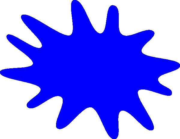 600x466 Clip Art Paint Splatter