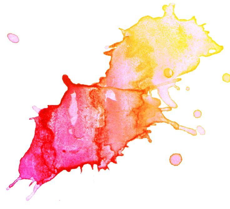 736x670 Watercolor Splash Clipart