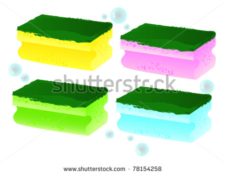 450x348 Foam Clipart Kitchen Sponge