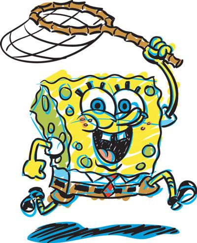 400x493 Spongebob clip art Clipart Panda