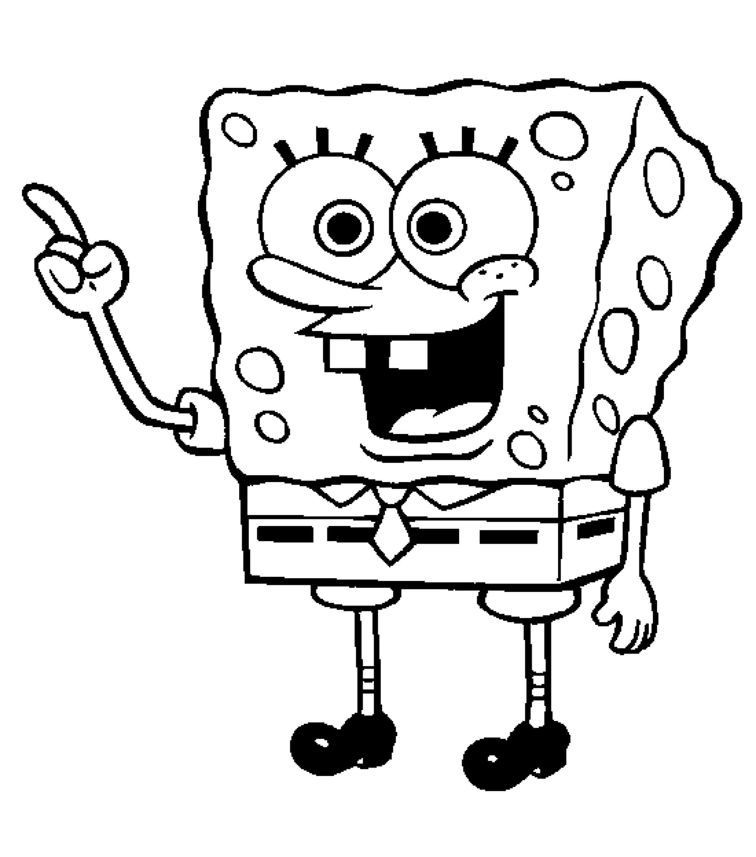 2550x2893 Elegant Sponge Bob Coloring Pages 60 In Download Coloring Pages