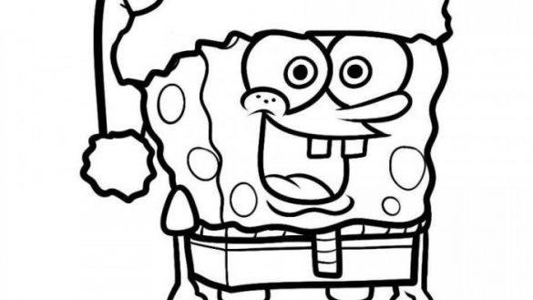 585x329 Free Printable Spongebob Squarepants Coloring Pages For Kids