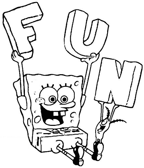 Spongebob Coloring Pages | Free download best Spongebob ...