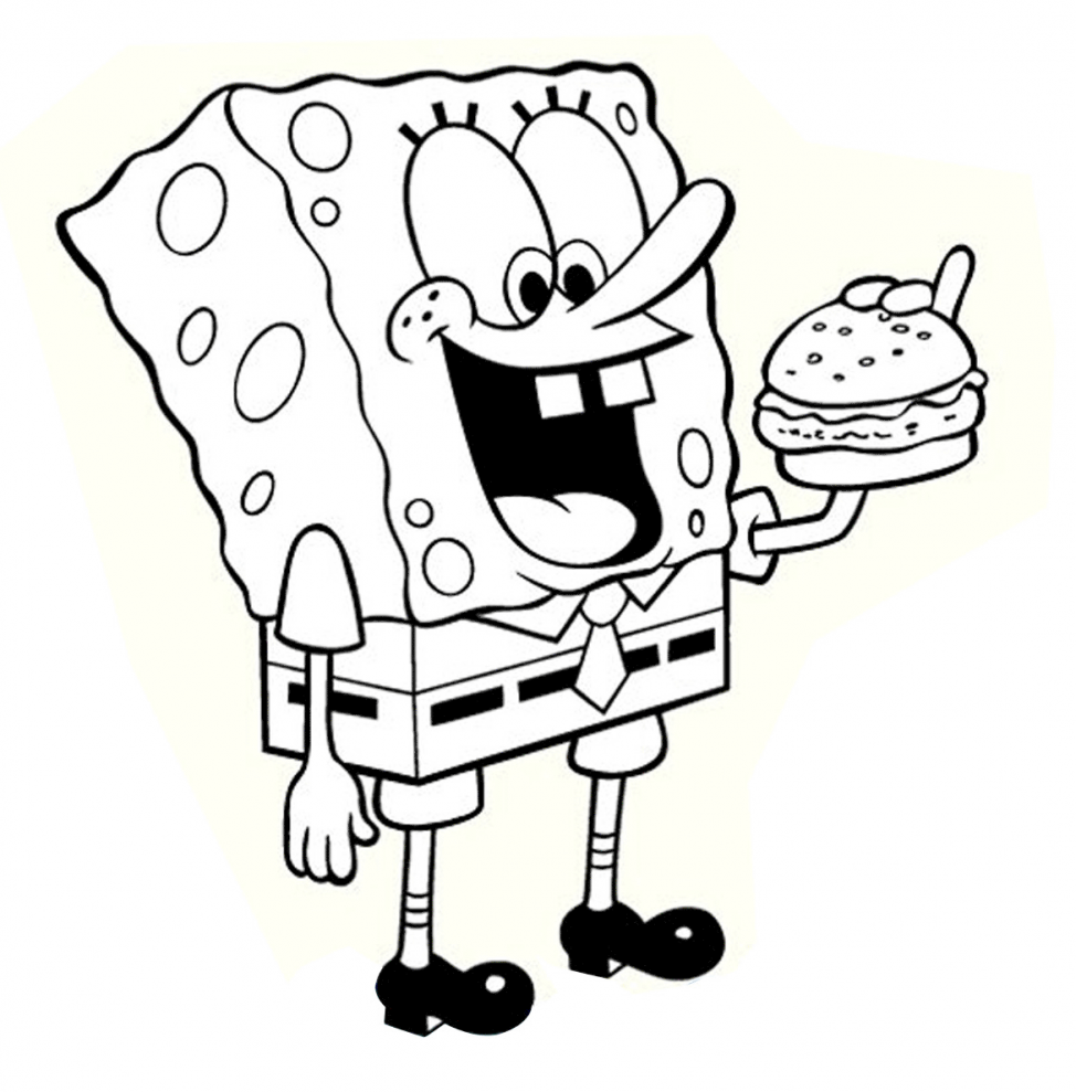 974x989 Coloring Pages Spongebob Color Sheets Coloring Pages 1 Spongebob
