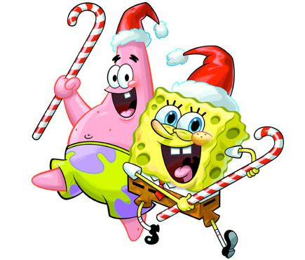 435x370 Fresh Monkey Clipart Spongebob Squarepants Christmas Clip Art 38