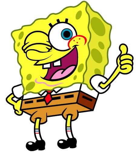 456x500 Spongebob Squarepants Clip Art Free Clipart 2