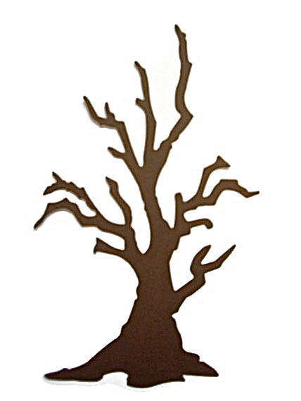 428x570 Tree Die Cuts Spooky Tree Branch Tree Die Cut Fall Tree