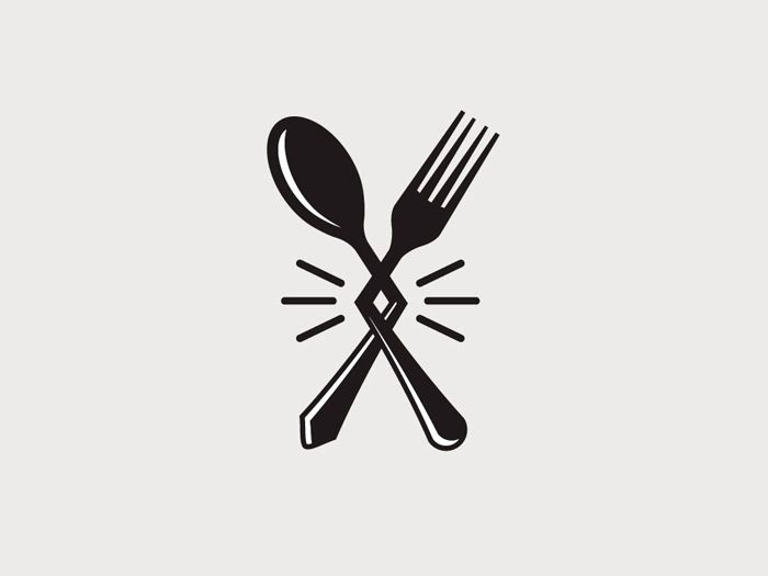 Spoon And Fork Logo | Free download on ClipArtMag