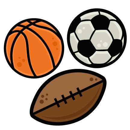 432x432 Sports Balls Set Svg Scrapbook Cut File Cute Clipart Files