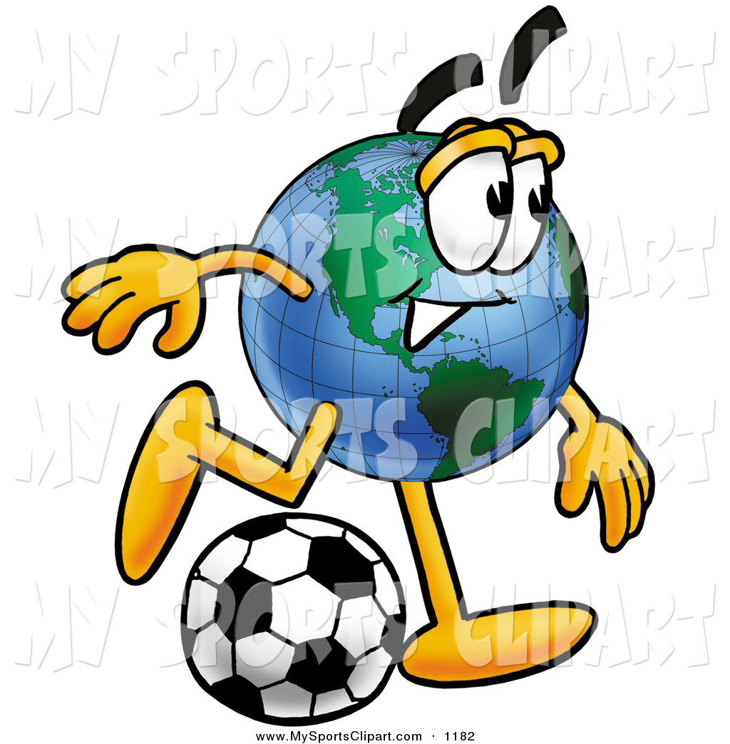 1024x1044 Sports Clip Art Of A Sporty World Earth Globe Mascot Cartoon