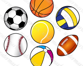 340x270 Sports Clip Art Etsy
