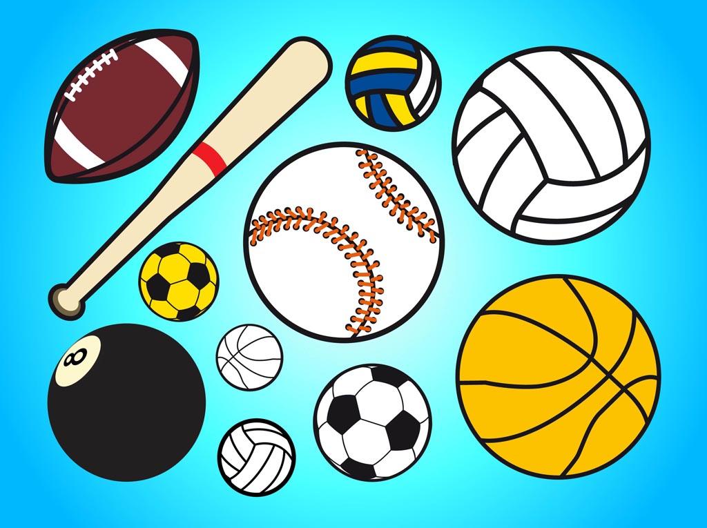 1024x765 Ball Sports Clipart