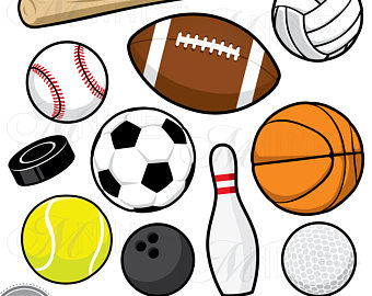 340x270 Pictures Of Sports Balls Clipart File Sport Balls Svg Sports Balls