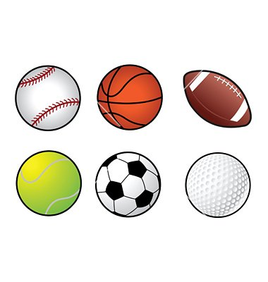 380x400 Coolest Sports Balls Clipart