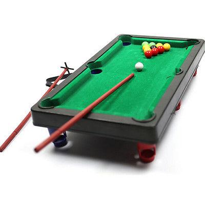 400x400 Mini Pool Table Flocking Desktop Simulation Billiard Table Set