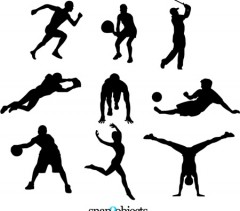 240x211 Sports sport clipart clipartcow