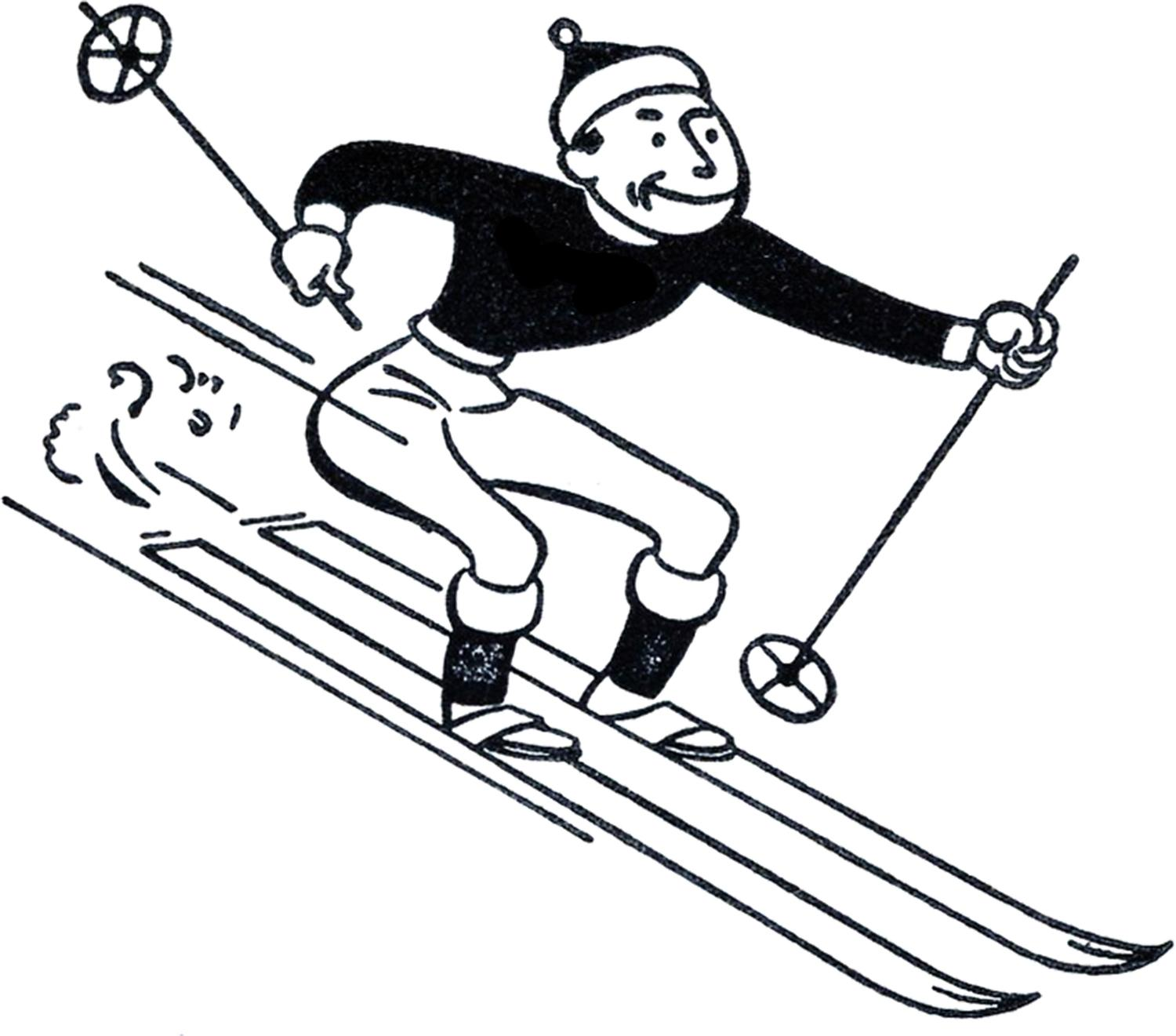 1500x1321 Best Hd Skiing Clip Art Image Free Vector Art, Images, Graphics