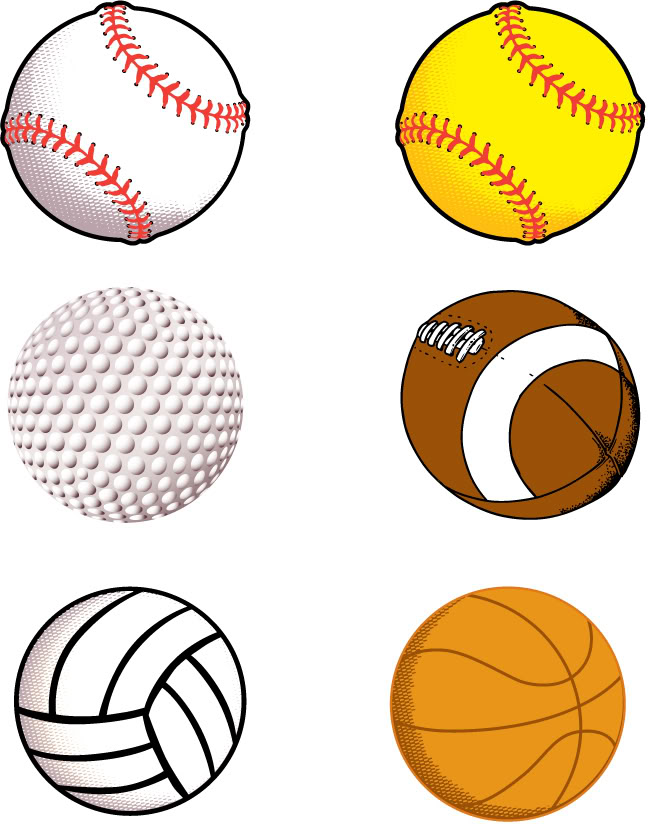 672x834 Sport Ball Cliparts