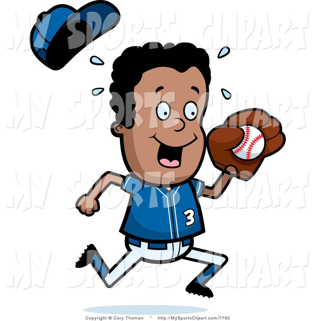 1024x1044 sports clipart sports clip art of a black baseball boy holding a