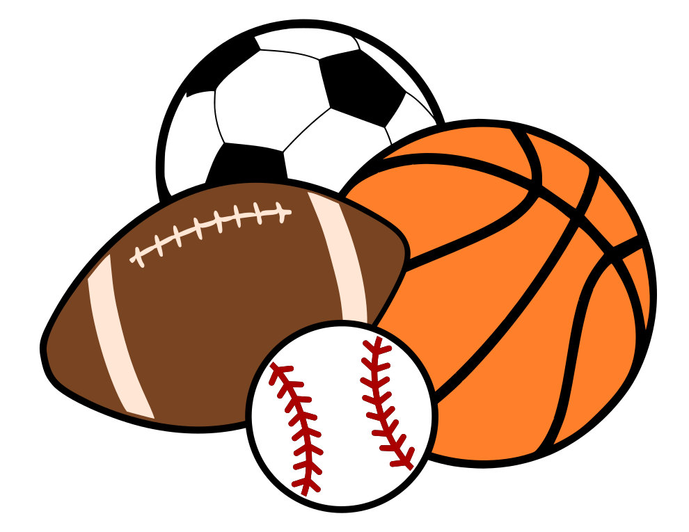 990x765 Ball Clipart Basketball And Soccer